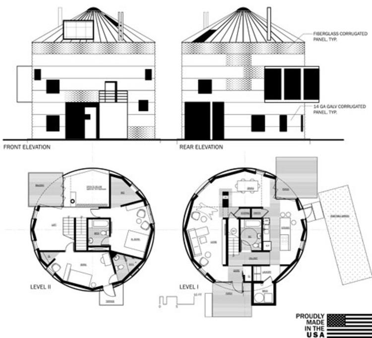 Luxury floor plans elevations
