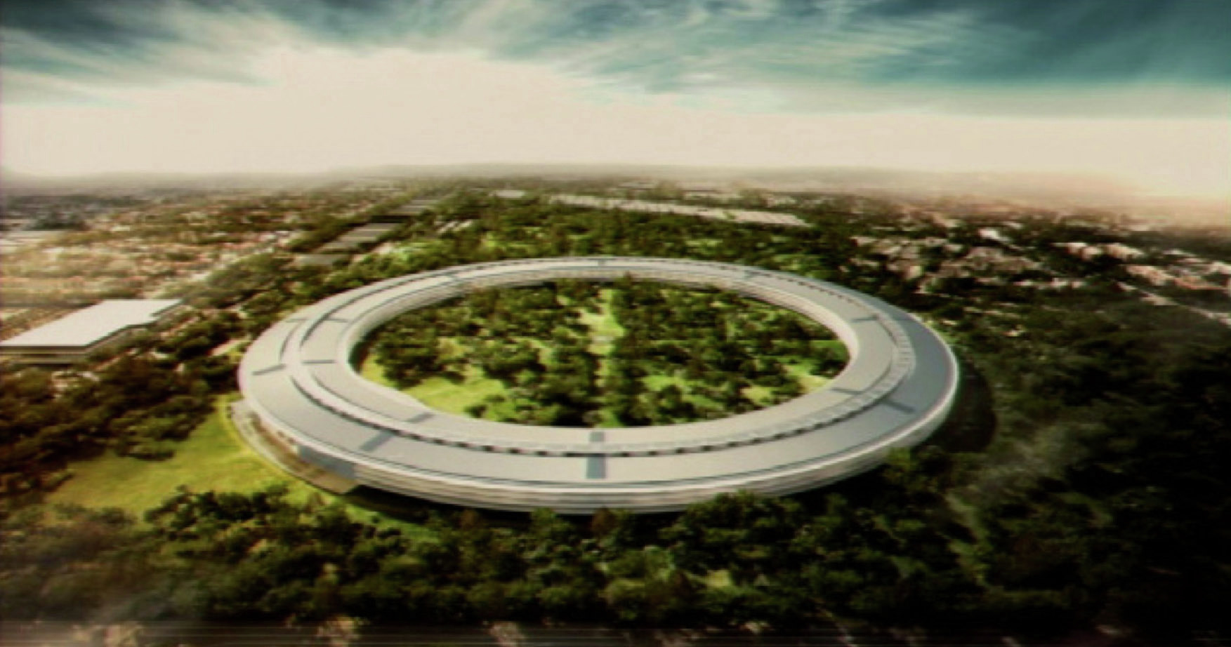 The Apple Campus in Cupertino ArchDaily