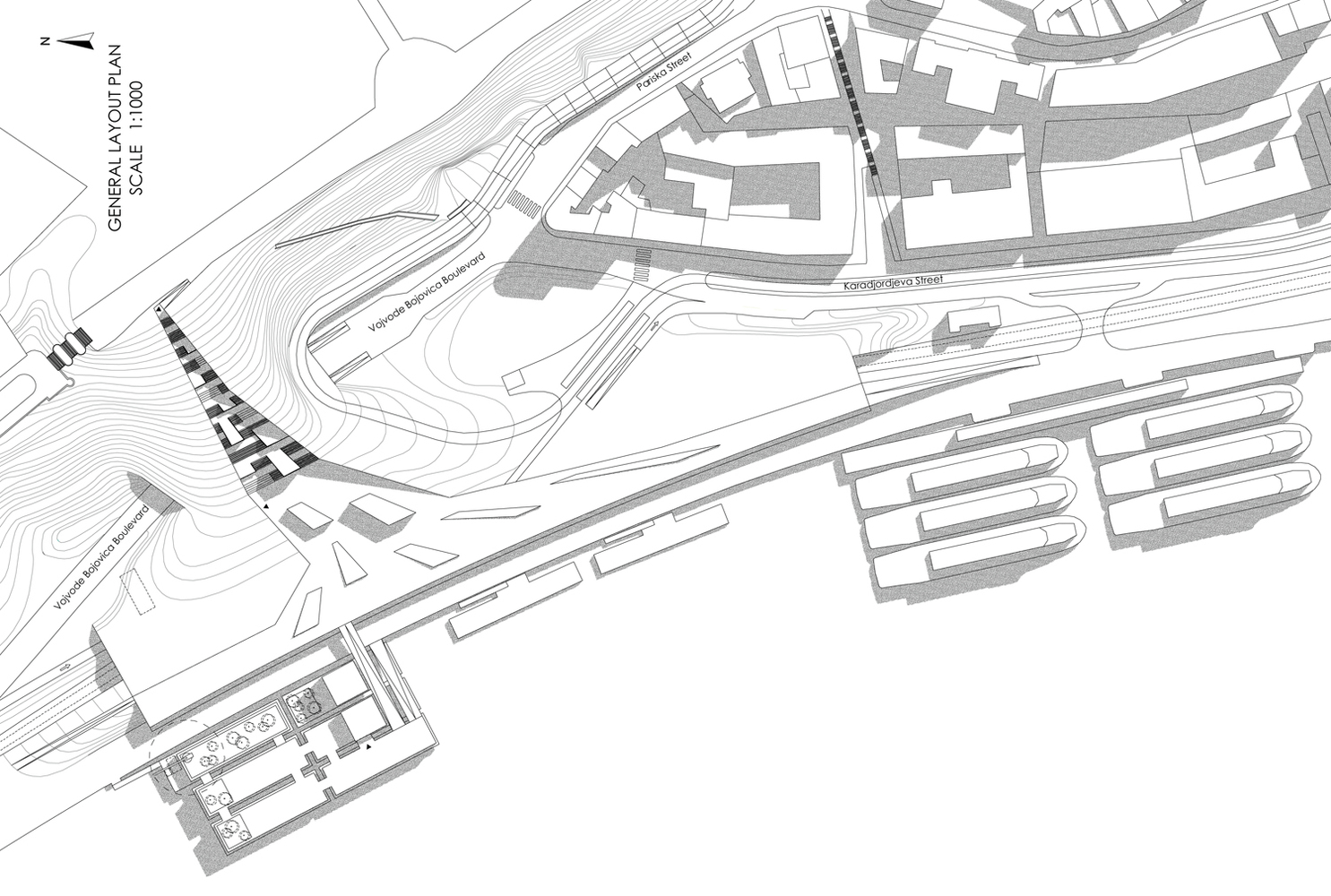 Gallery of Beton Hala Waterfront Competition proposal / Pikasch