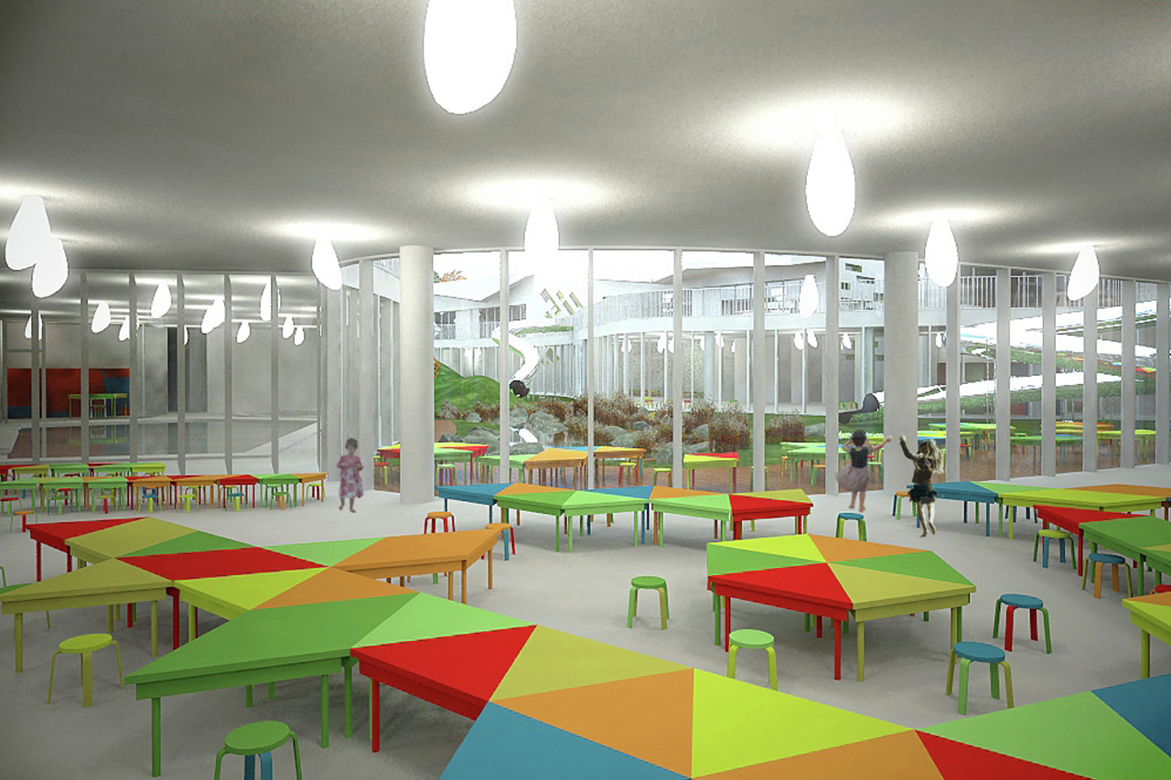 Gallery of kindergarten competition proposal arhis 9 for Designhotel kinder