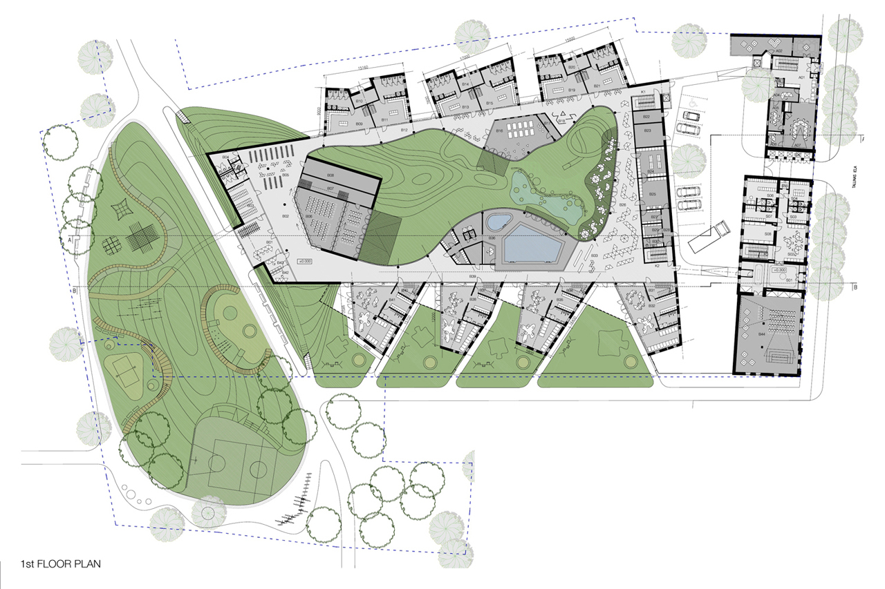 Gallery of Kindergarten Competition Proposal / ARHIS - 4