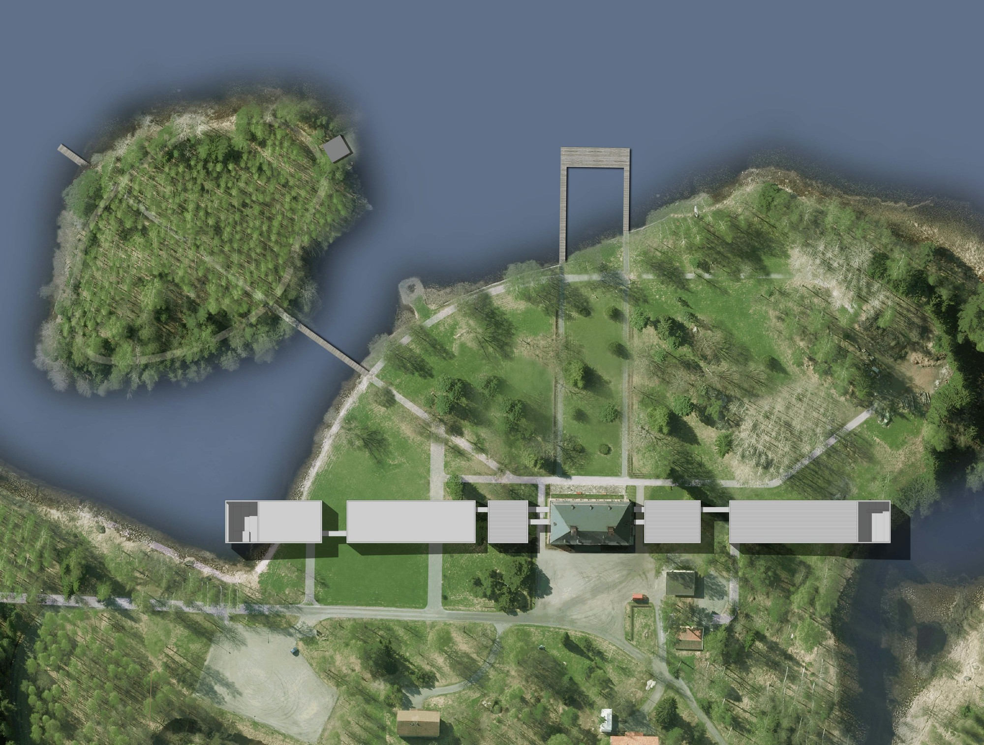 Gallery of Gosta Museum Extension Competition proposal / Dellekamp