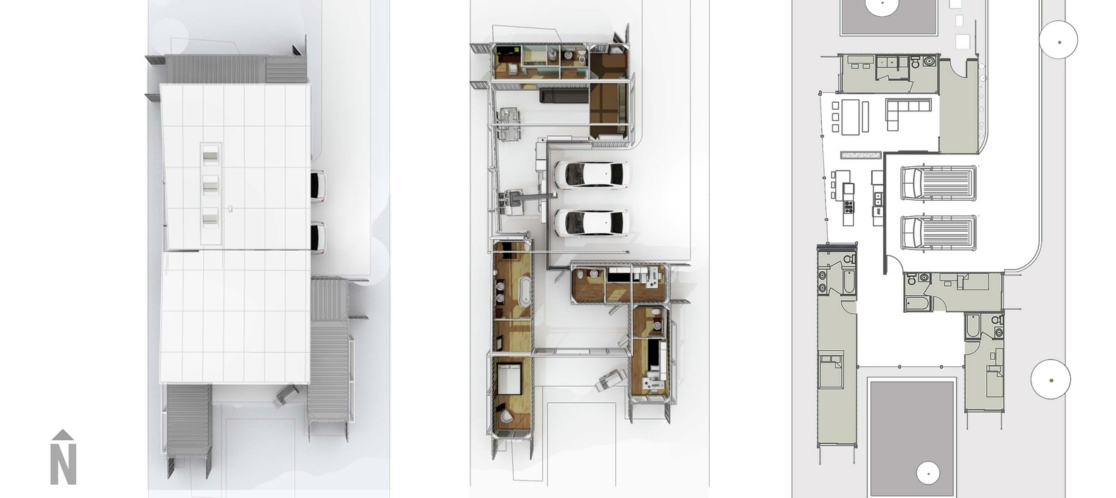 Gallery of Florida Case Study House Competition Proposal / Co-tain ...