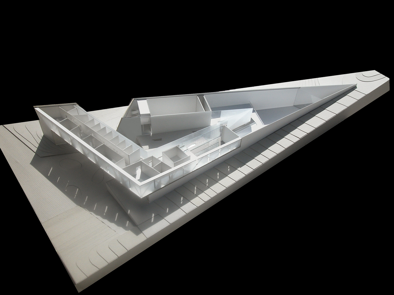 Gallery of museum and archive jabotinsky center for Concept 8 architects