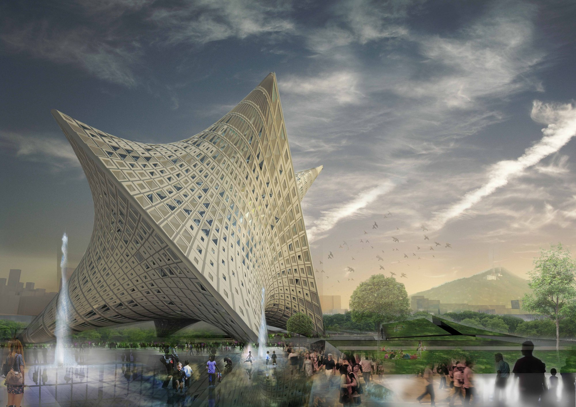 D Art Exhibition Taipei : Gallery of new taipei city museum art proposal ooda