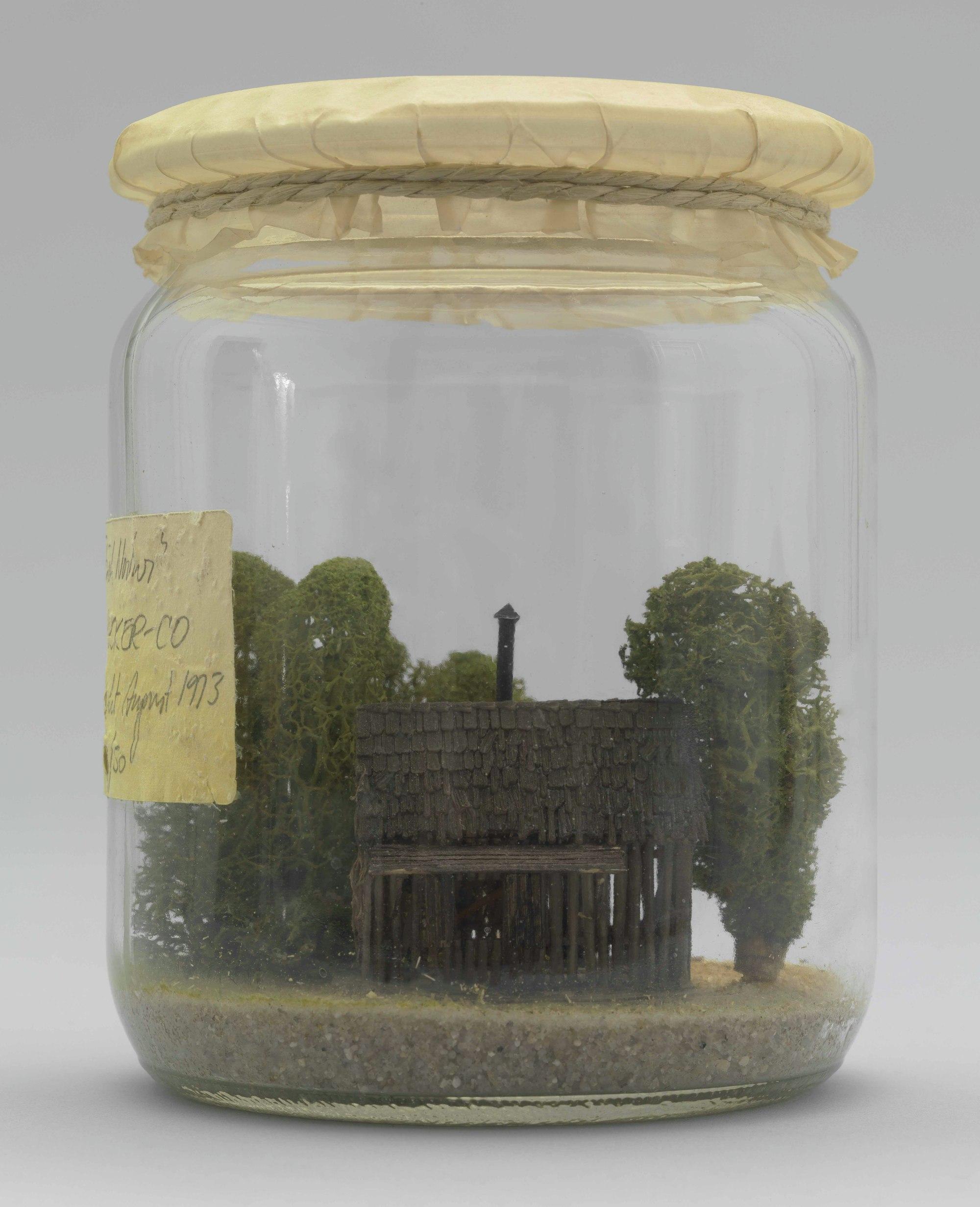 Haus Rucker Cou0027s Stück Natur (Piece Of Nature) (1973).