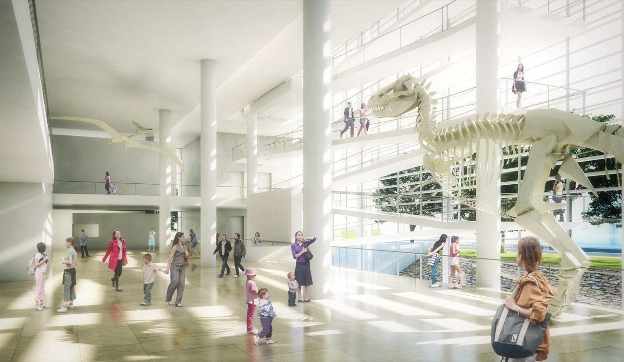 Richard Meier Partners Design For The New Royal Alberta Museum