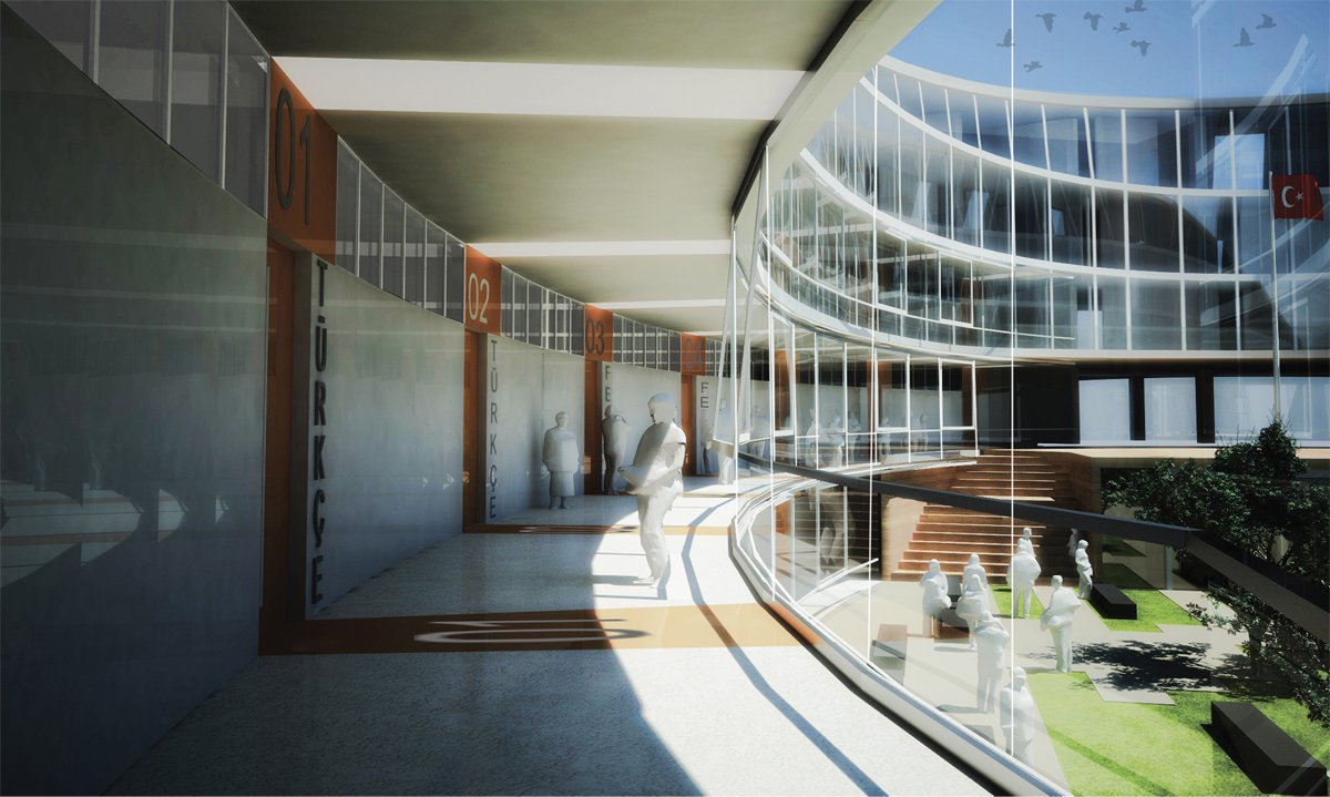 Gallery Of Şişli High School Competition Entry Cem