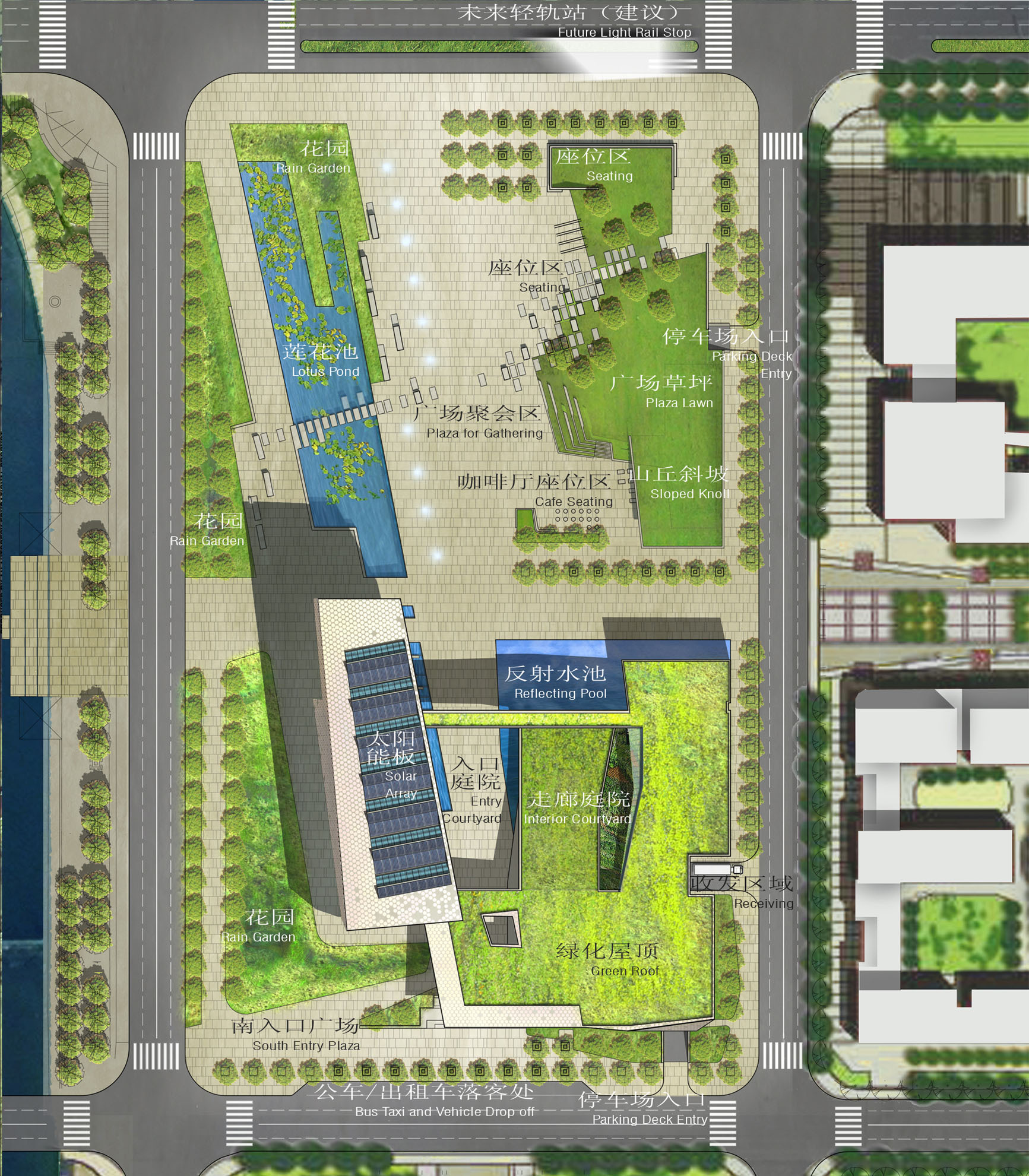 Mixed Use Floor Plans Gallery Of Civic Cultural Exhibition And Activity Center