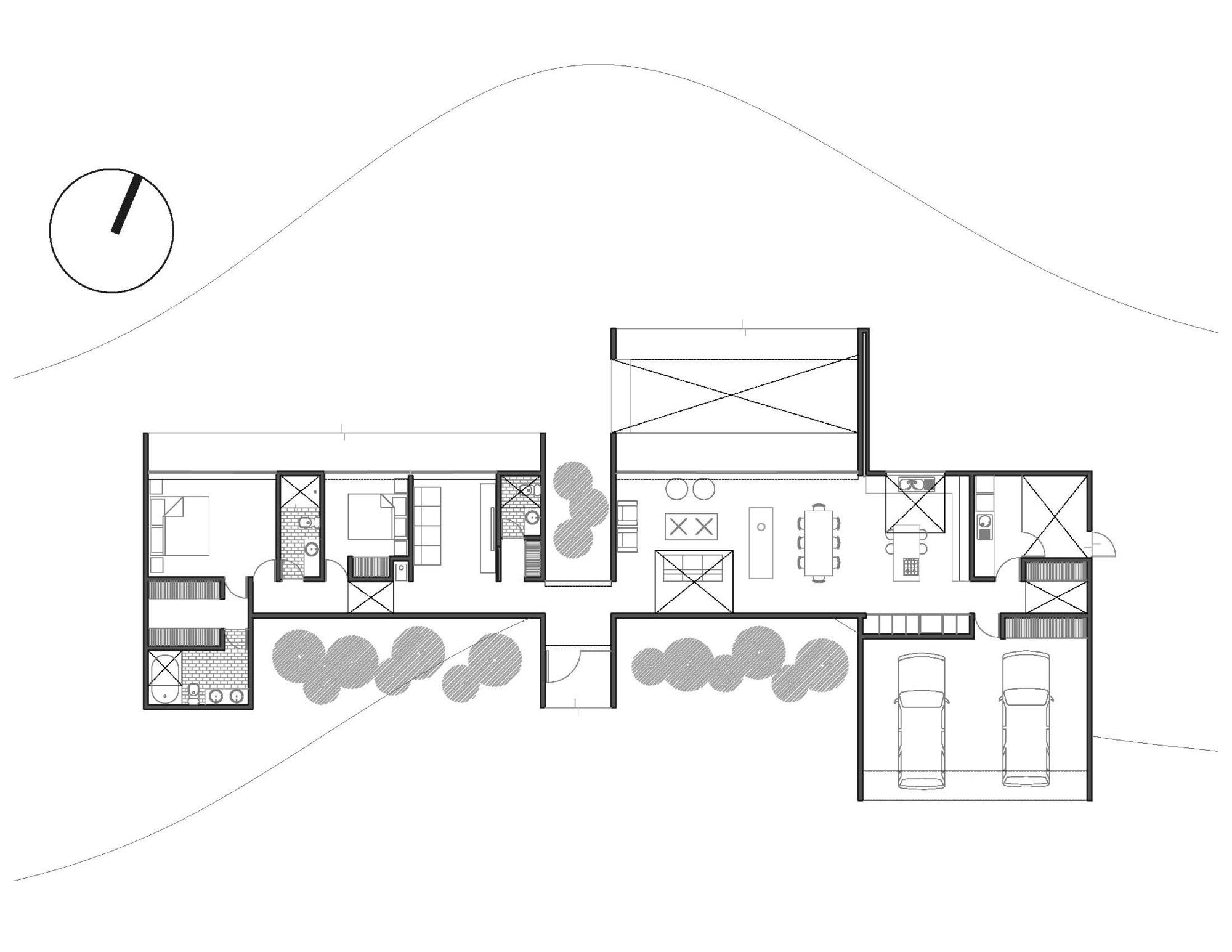 horizontal wiring home plan basic wiring home telephone gallery of lucernas house / 01 arq - 6