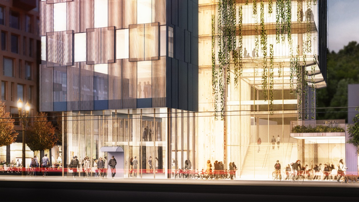 Gallery of Proposals for Portland, New York Win US Tall Wood