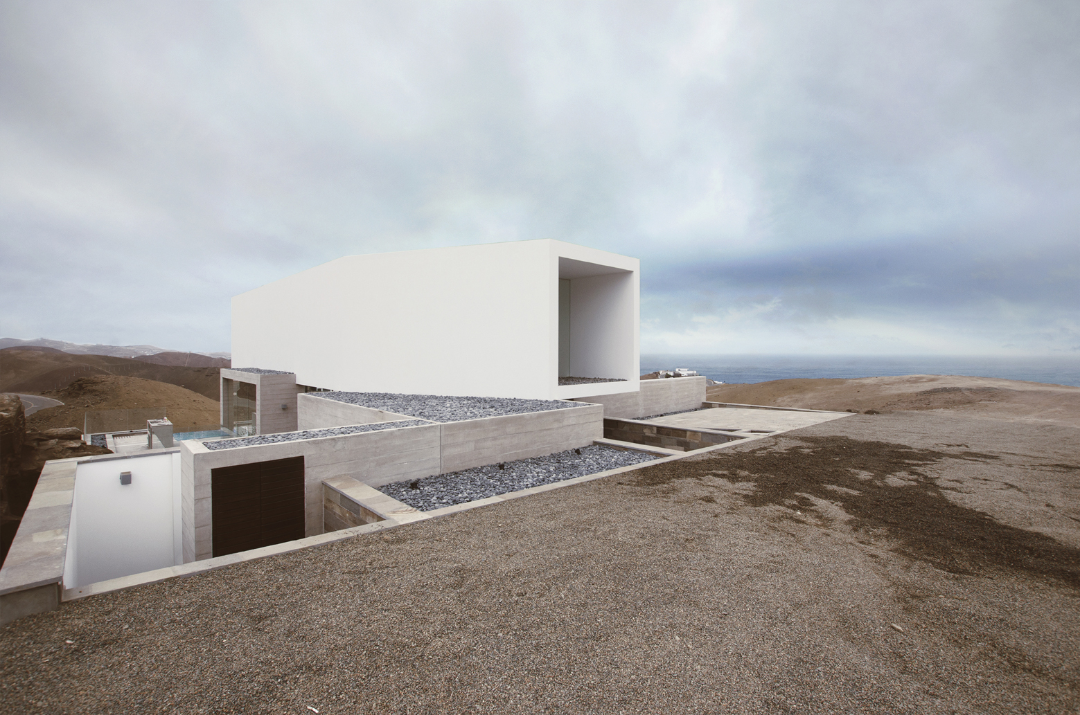 P2 House Poseidon / Domenack arquitectos