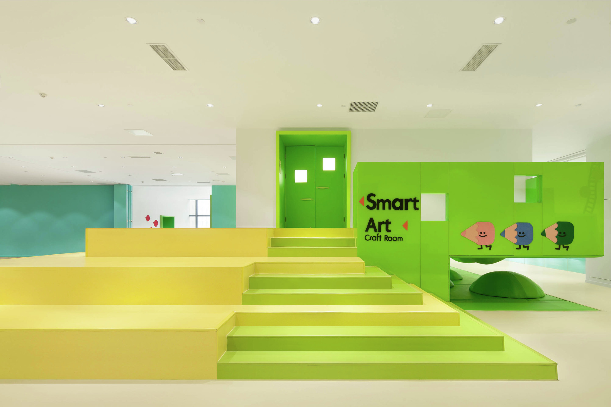 Green Box Architecture family box qingdao crossboundaries archdaily