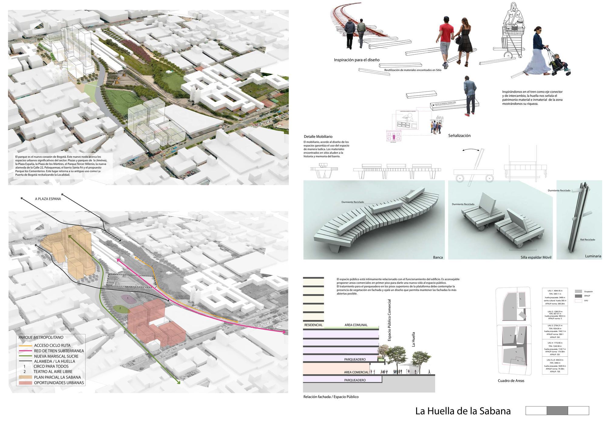 Galer a de conoce las propuestas ganadoras del concurso for Ejemplos de mobiliario urbano