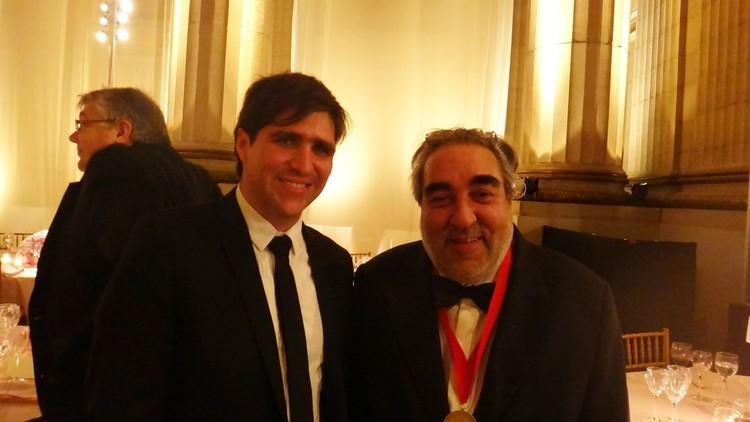 Ceremonia Premio Pritzker 2011: Eduardo Souto de Moura, y Barack Obama, Plataforma y Eduardo Souto de Moura