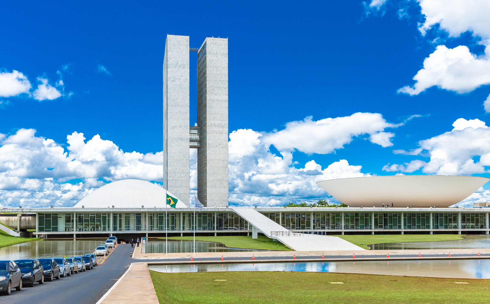 Ad Classics National Congress Oscar Niemeyer Archdaily
