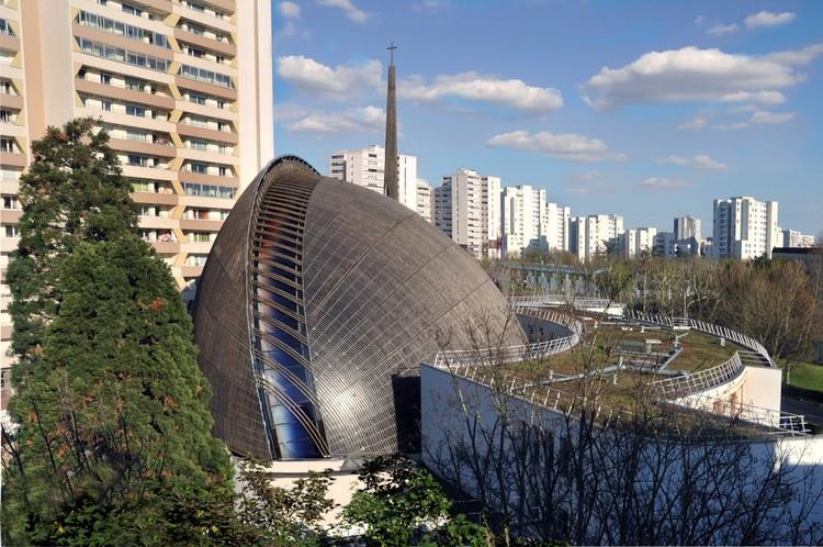 Extensão da Catedral de Créteil / Architecture-Studio, © Yves Mernier