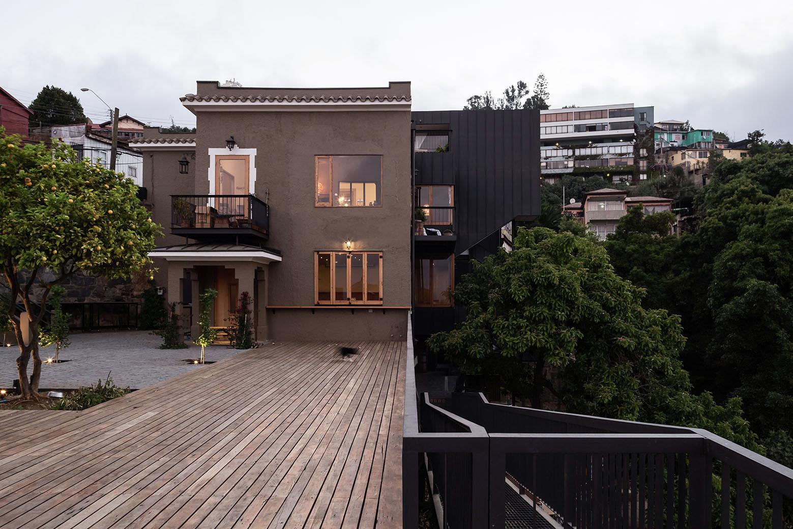 El manzano house refurbishment fantuzzi rodillo for Casa design manzano