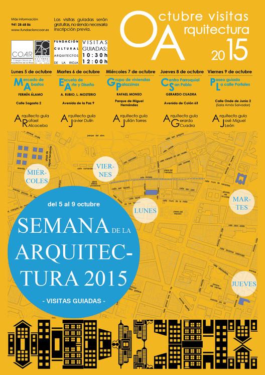 Semana de la Arquitectura 2015: La Rioja / España
