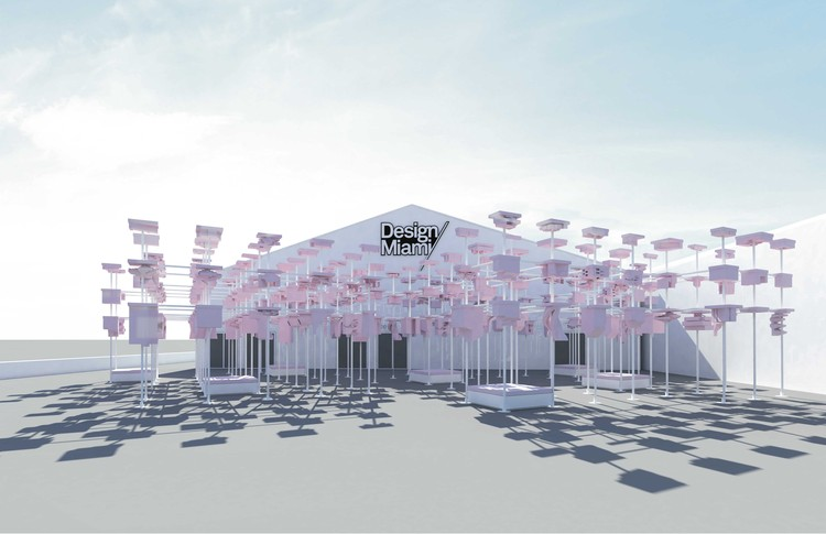 Harvard GSD Designs UNBUILT Pavilion for Design Miami, Courtesy of Harvard GSD