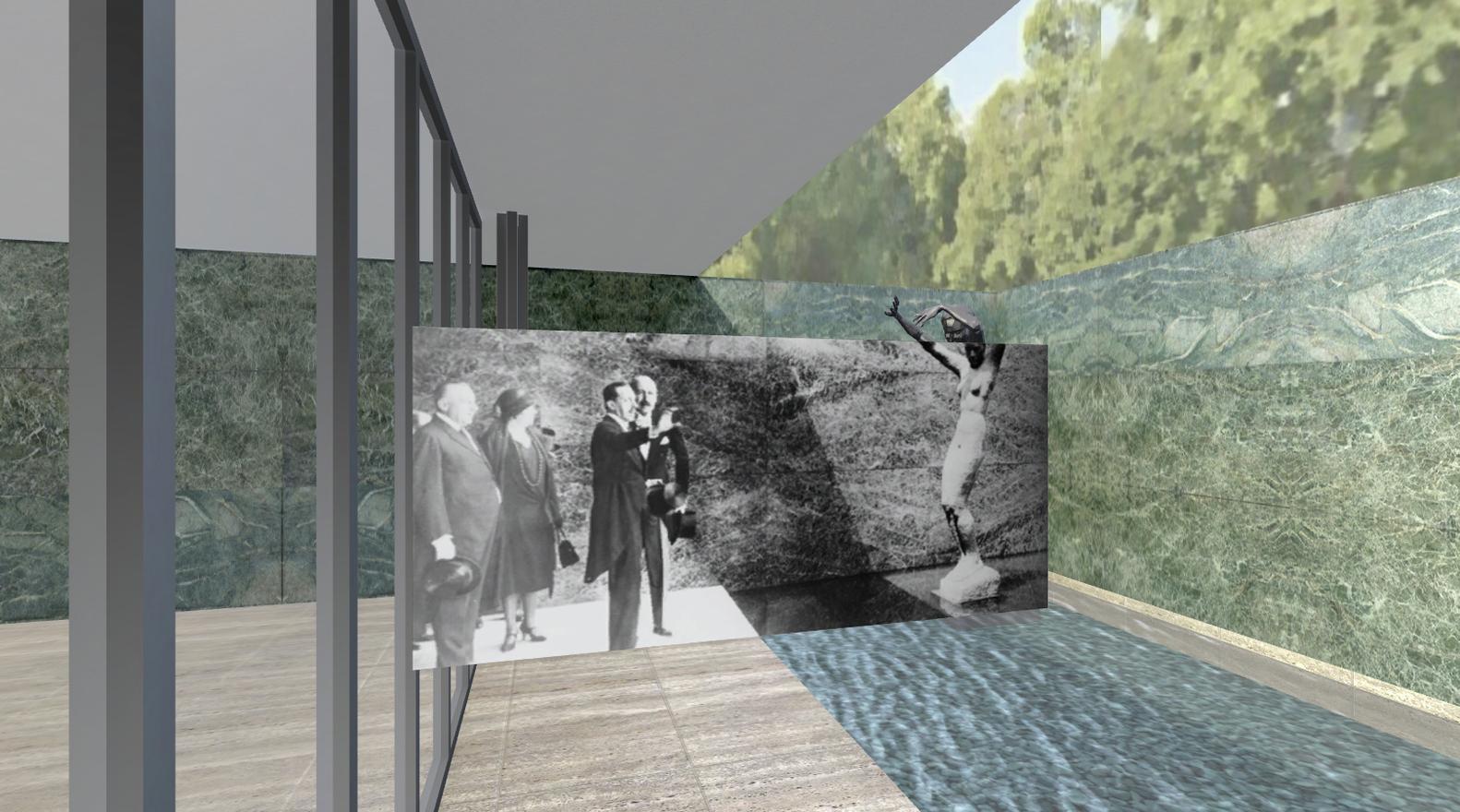 Gallery Of A Virtual Look Into Mies Van Der Rohes Barcelona