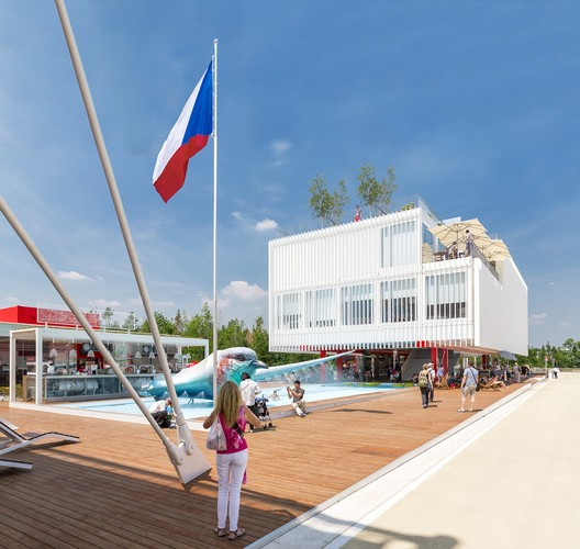 Czech Pavilion Milan Expo 2015 / Chybik+Kristof Architects & Urban Designers