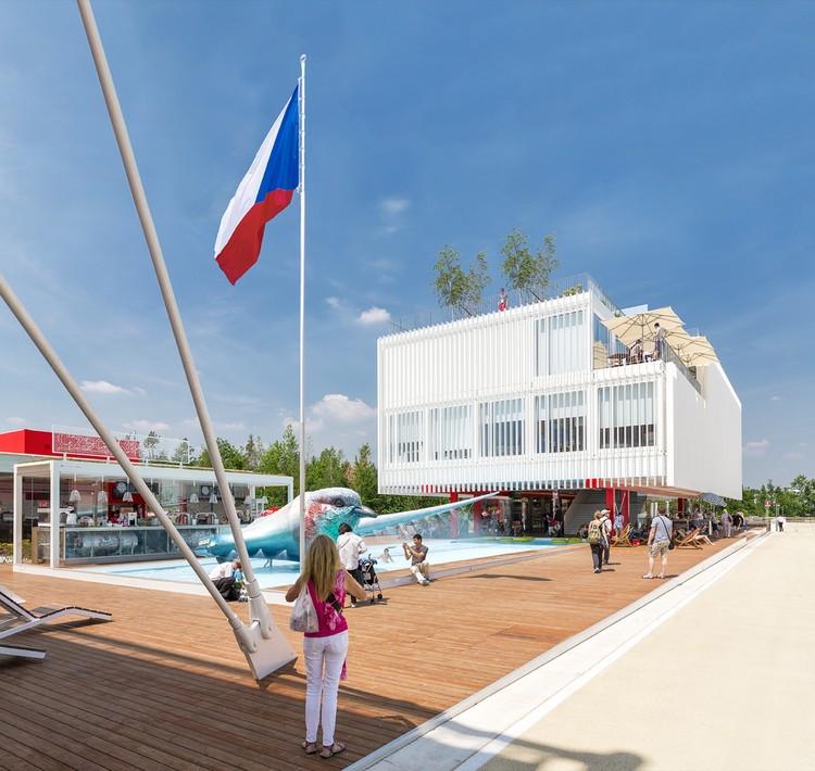 Expo Milão 2015: Pavilhão da República Tcheca / Chybik+Kristof Architects & Urban Designers, © Lukas Pelech
