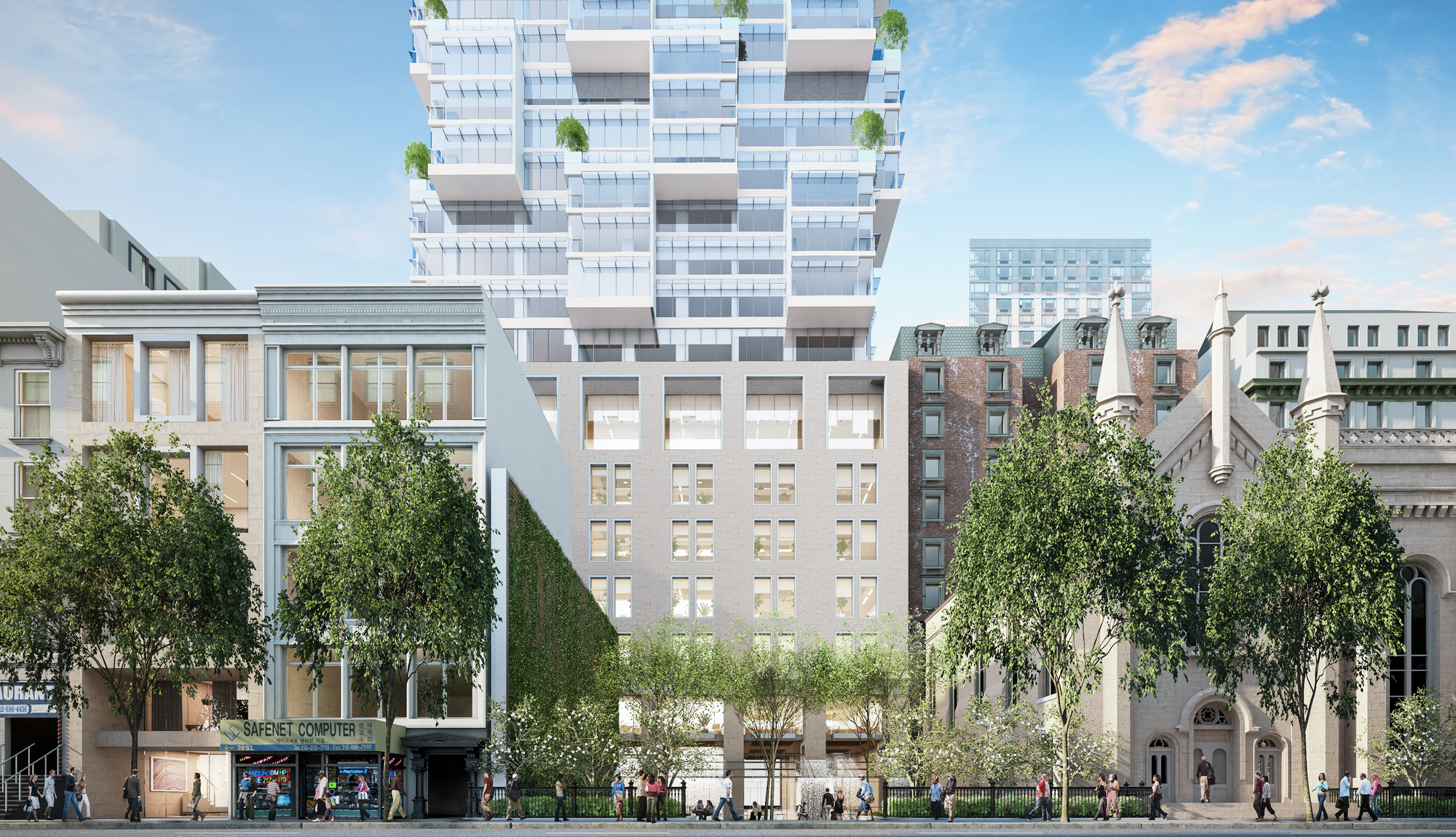 Images Released Of Moshe Safdie S First New York Project