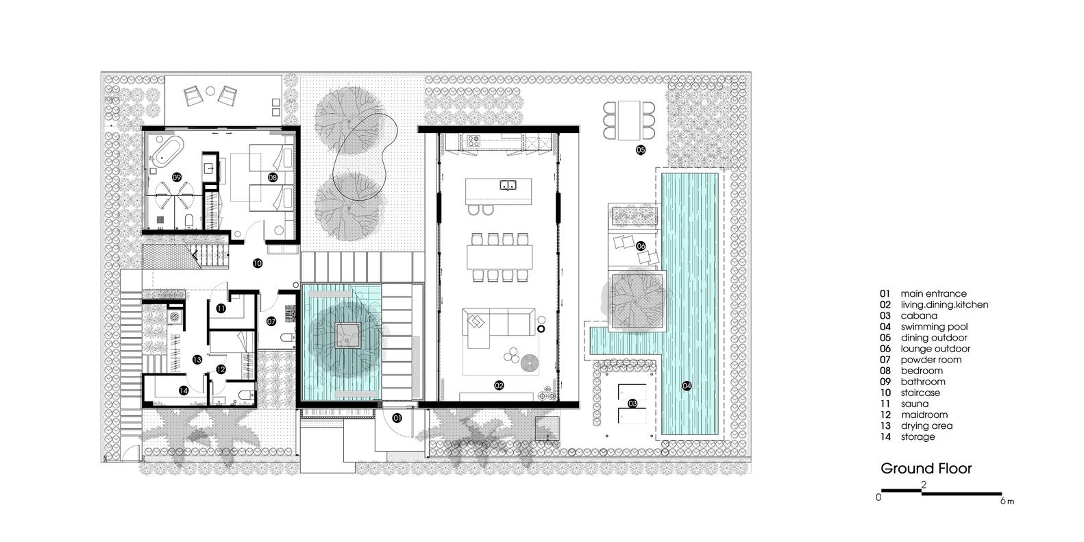 Gallery of Naman Residences - Villa B / MIA Design Studio - 14