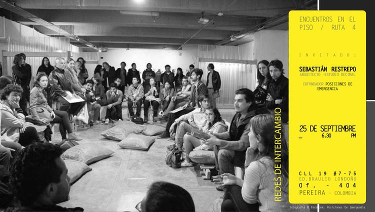 Encuentros En El Piso: Redes de intercambio / Pereira, Ruta4