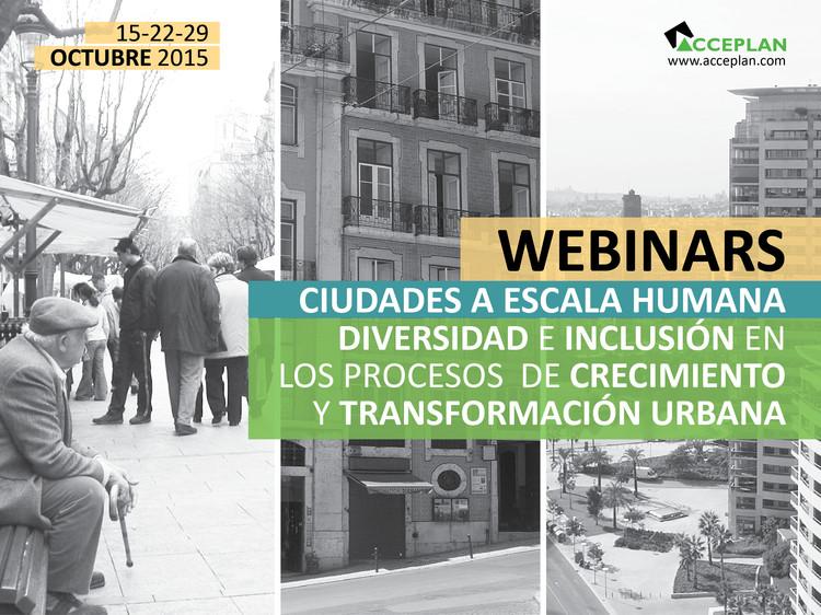 Conferencia 'Ciudades a escala humana: diversidad e inclusión en los procesos de crecimiento y transformación urbana'