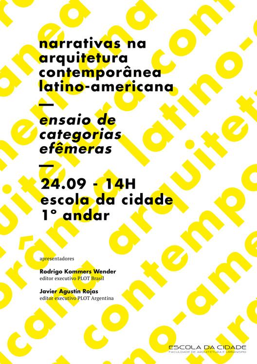 Escola da Cidade promove palestra sobre narrativas na arquitetura contemporânea latino-americana