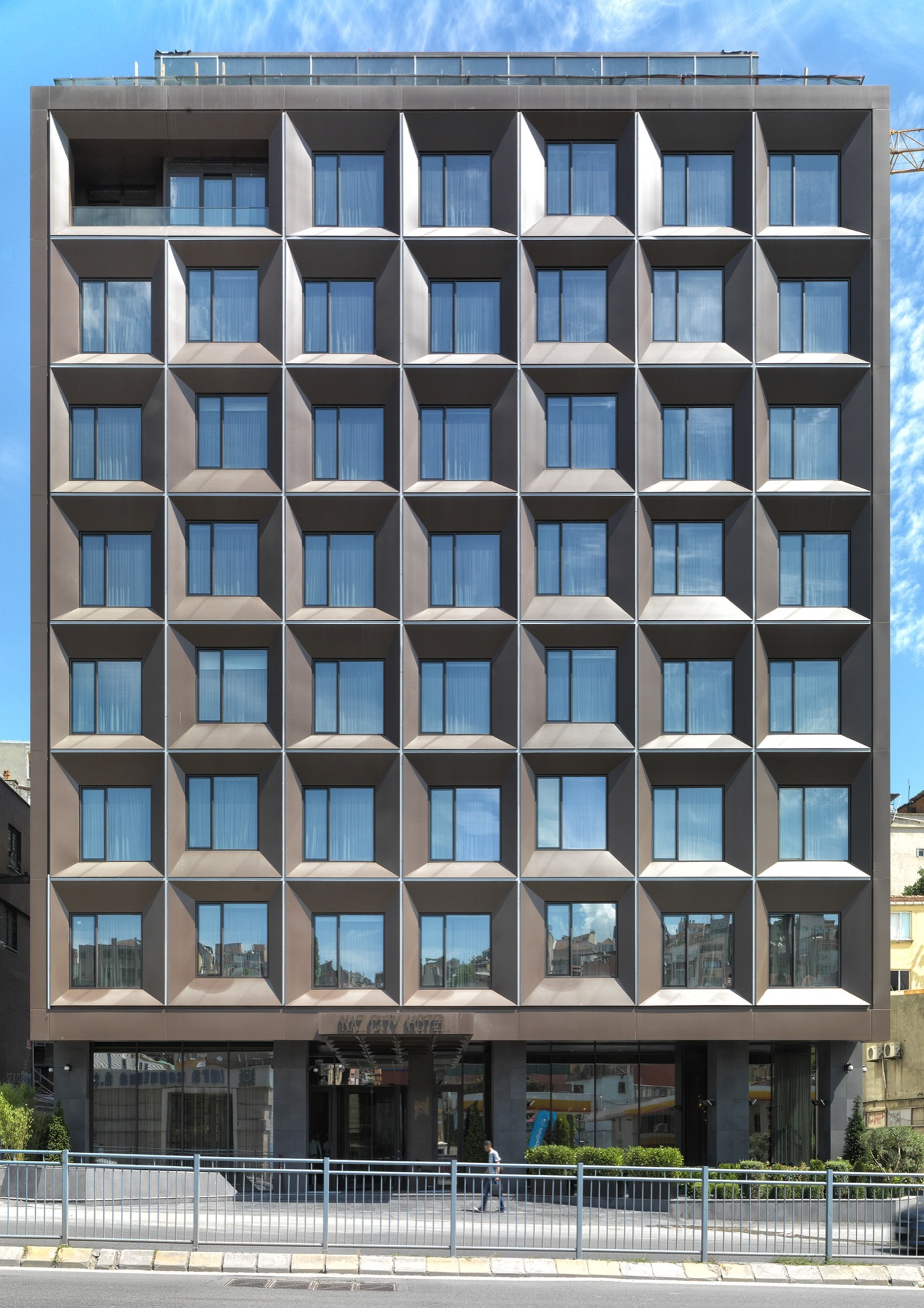 Gallery of naz city hotel taksim metex design group 26 for Design hotel group