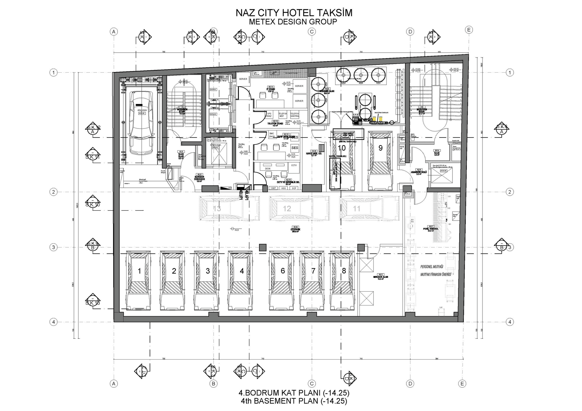 Gallery of naz city hotel taksim metex design group 36 for City hotel design
