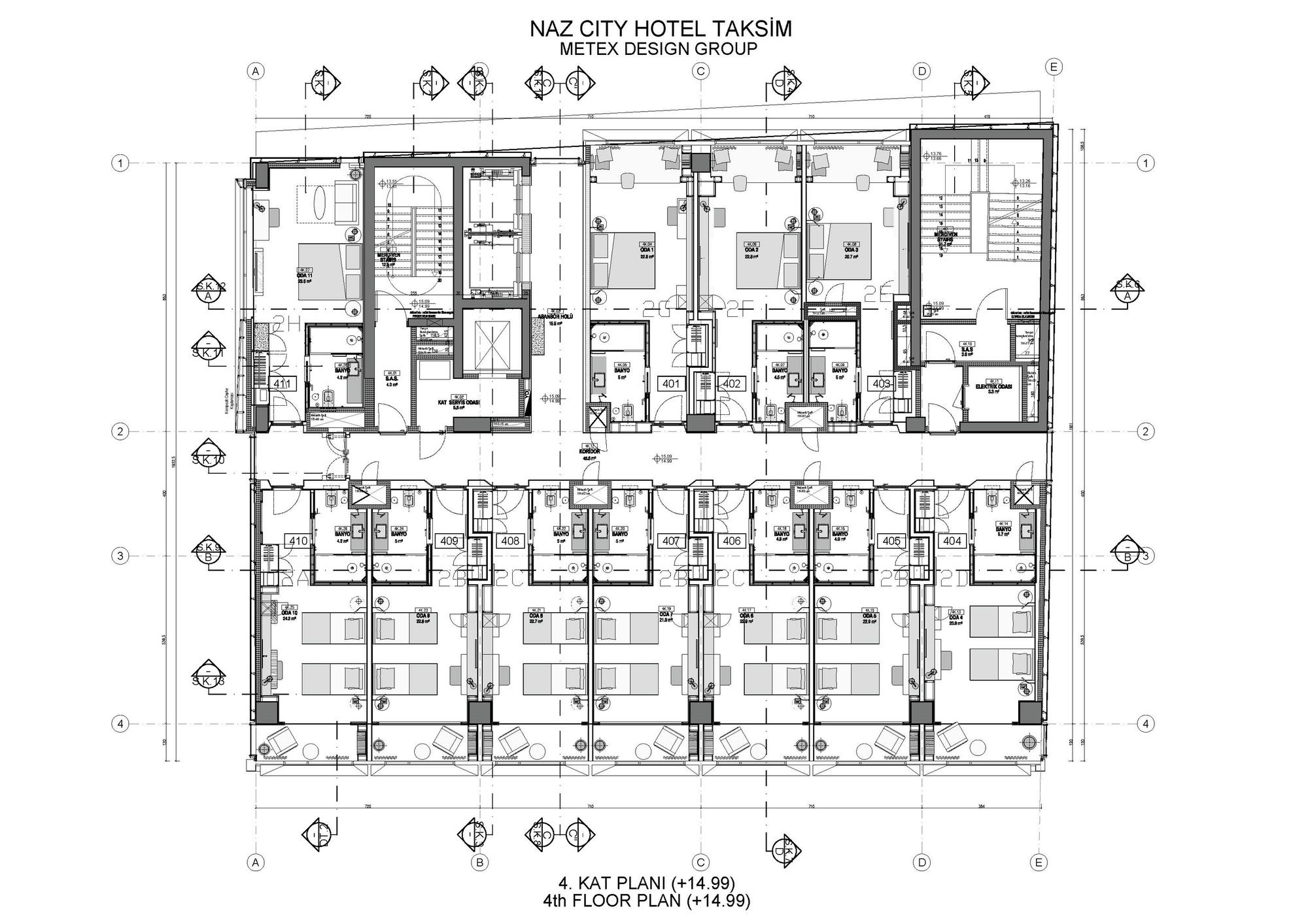Gallery of naz city hotel taksim metex design group 30 for Design hotel group