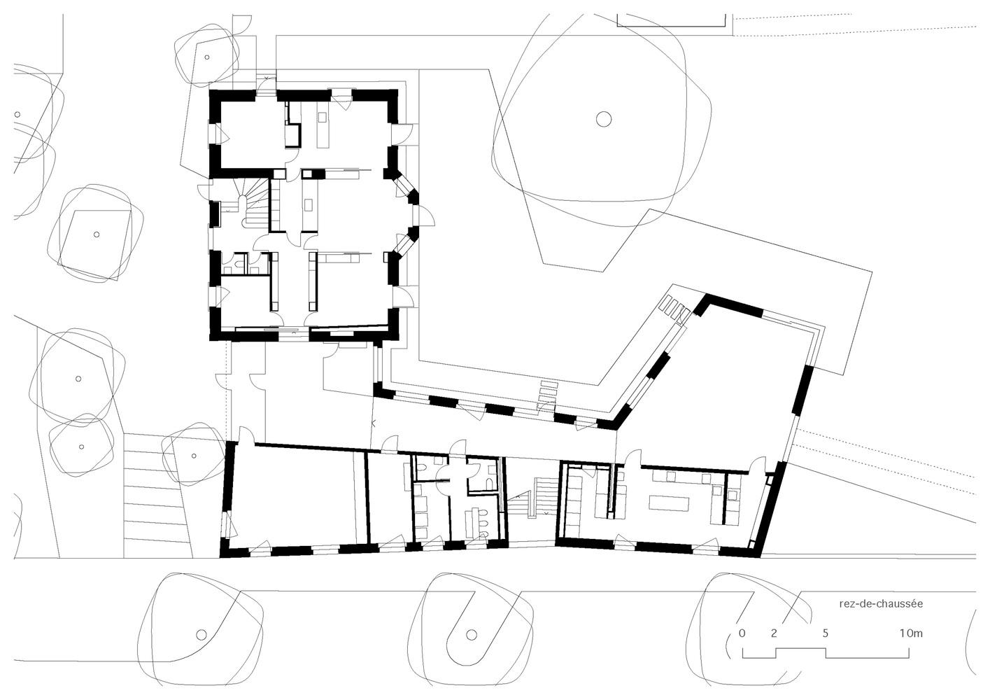 Le Gazouillis Day Nursery Refurbishment,Ground Floor Plan