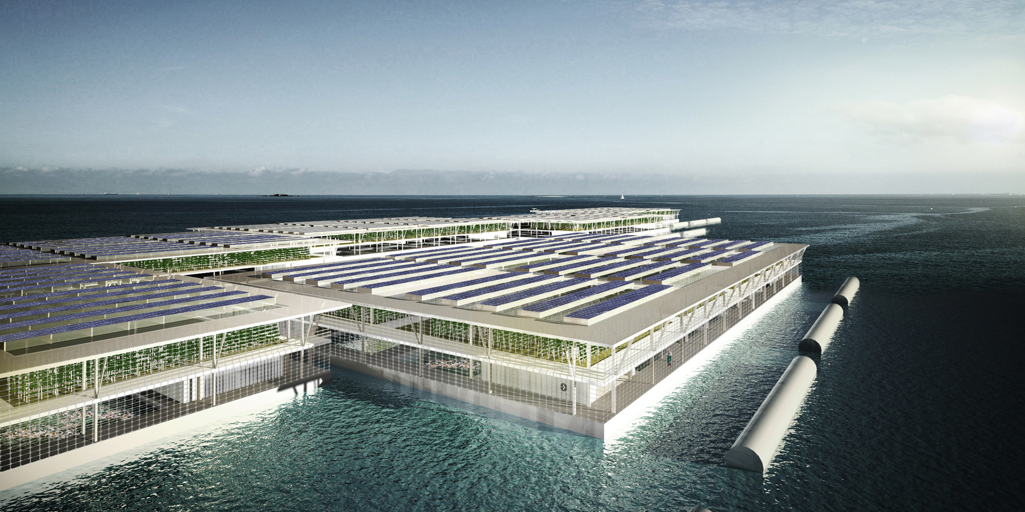 These Floating Farms Could Be Key To Feeding Future Populations | ArchDaily