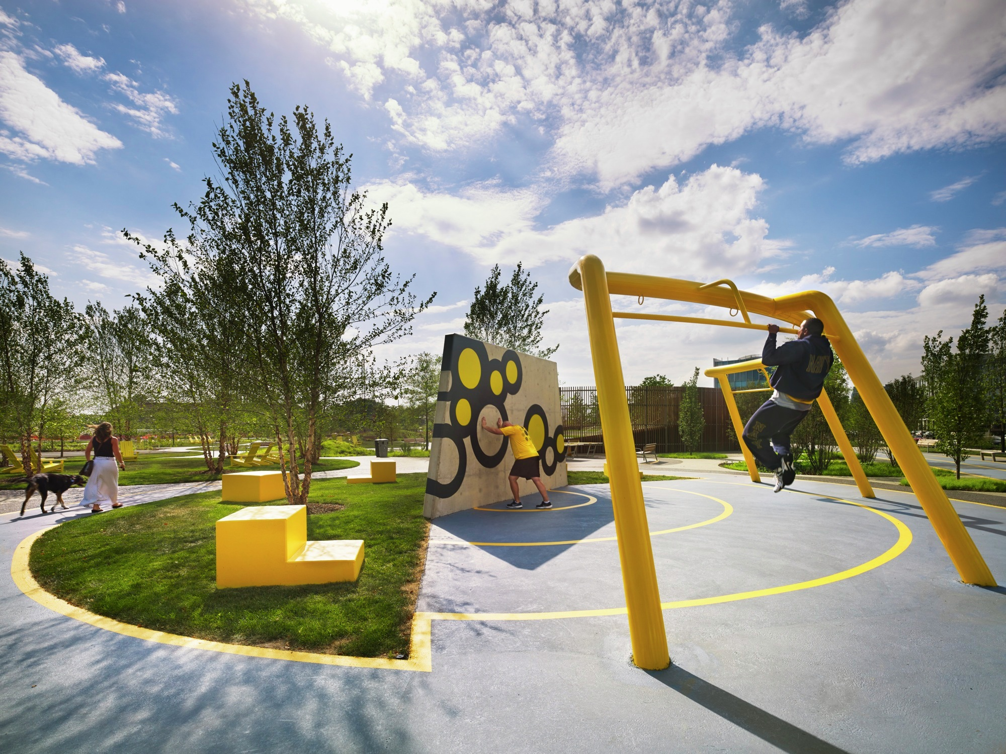 Urban Playground Design Landscape Architects