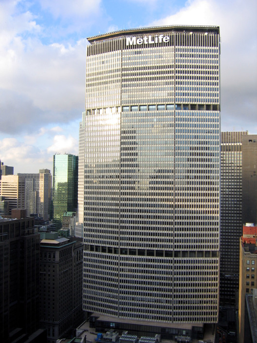Competition Challenges Architects to Reimagine New York's MetLife Building, © Wikipedia User: Shaqspeare, licensed under CC BY-SA 3.0
