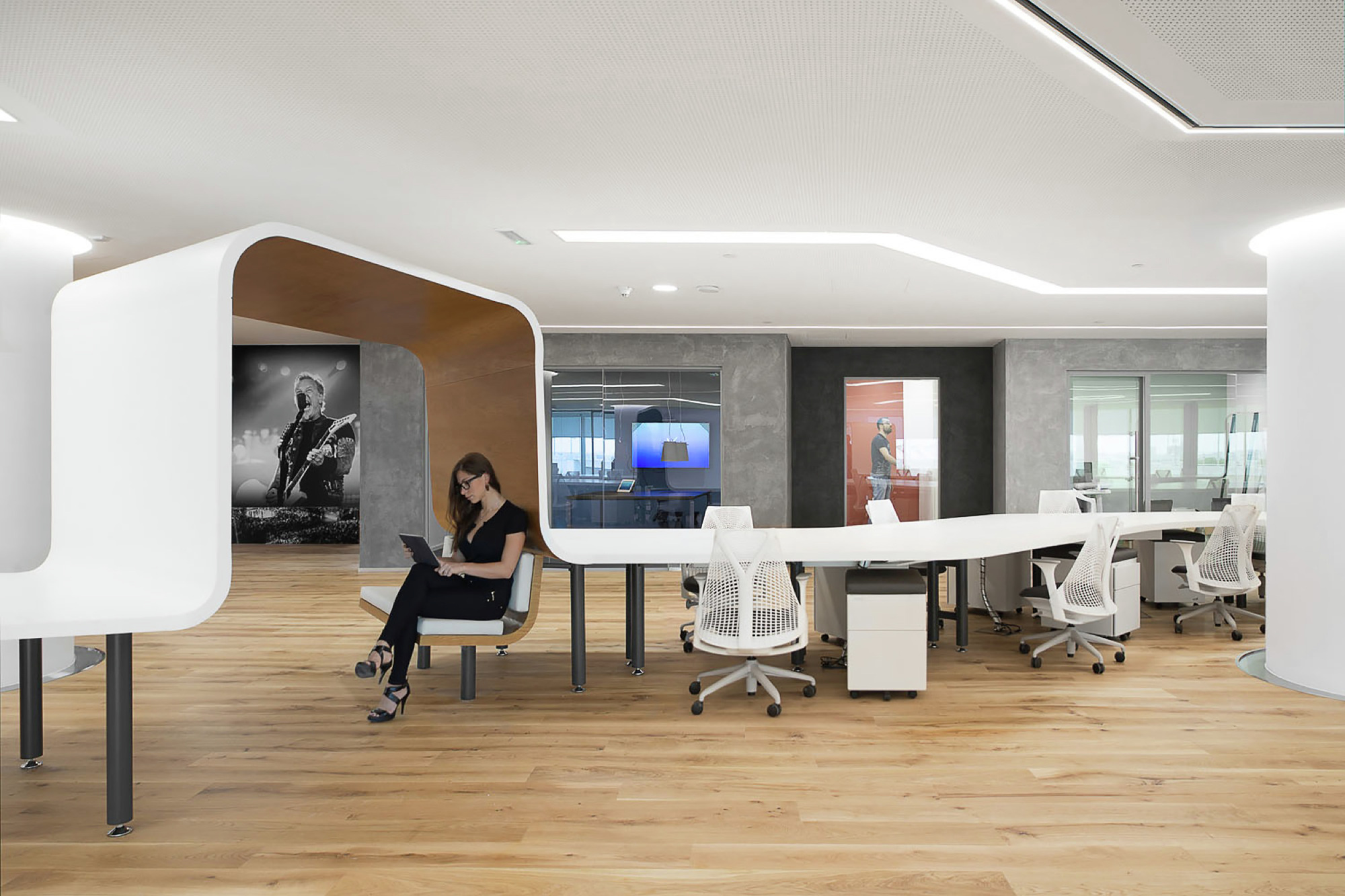 entertainment office interior design