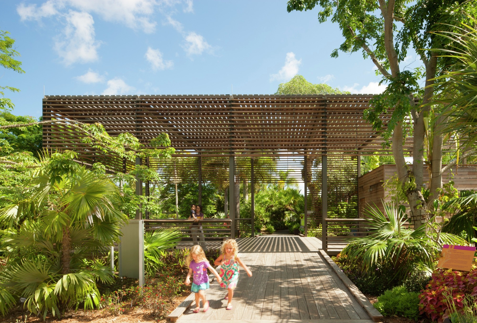 Naples botanical garden visitor center lake flato Architect florida