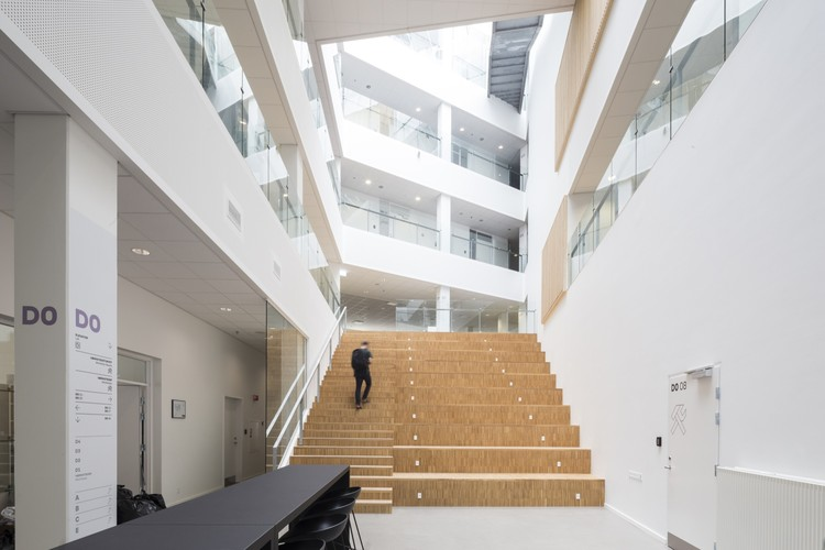 VIA University College Aarhus City / Arkitema Architects, © Niels Nygaard