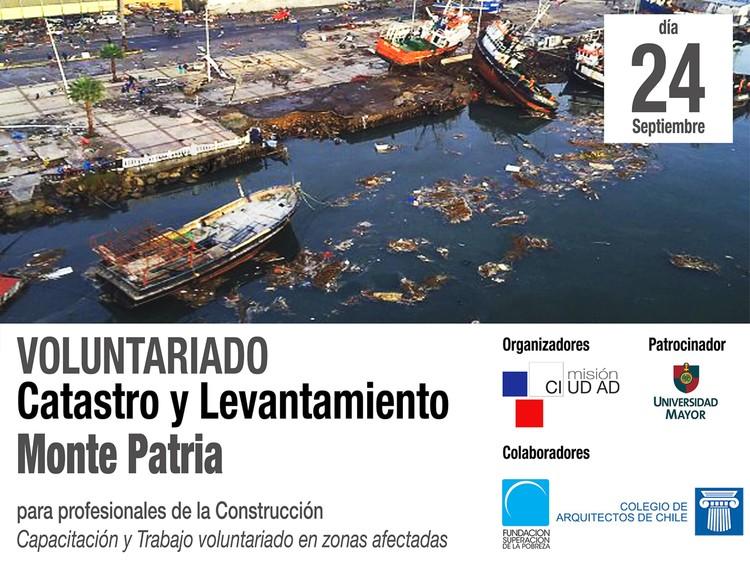 Charla informativa sobre voluntariado: catastro y levantamiento en Monte Patria / Santiago