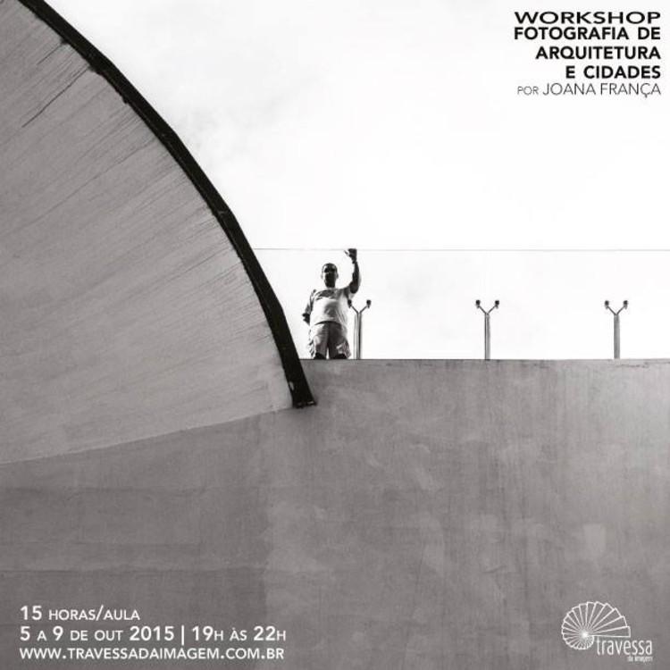 """Workshop """"Fotografia de Arquitetura e Cidades"""" com Joana França, © Joana França. Cortesia de Travessa da Imagem"""
