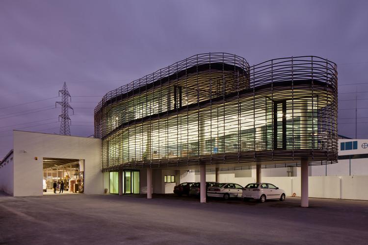 Nuevas oficinas para la empresa Fojansa  / Estudio Beldarrain, © Jesús Martín Ruiz