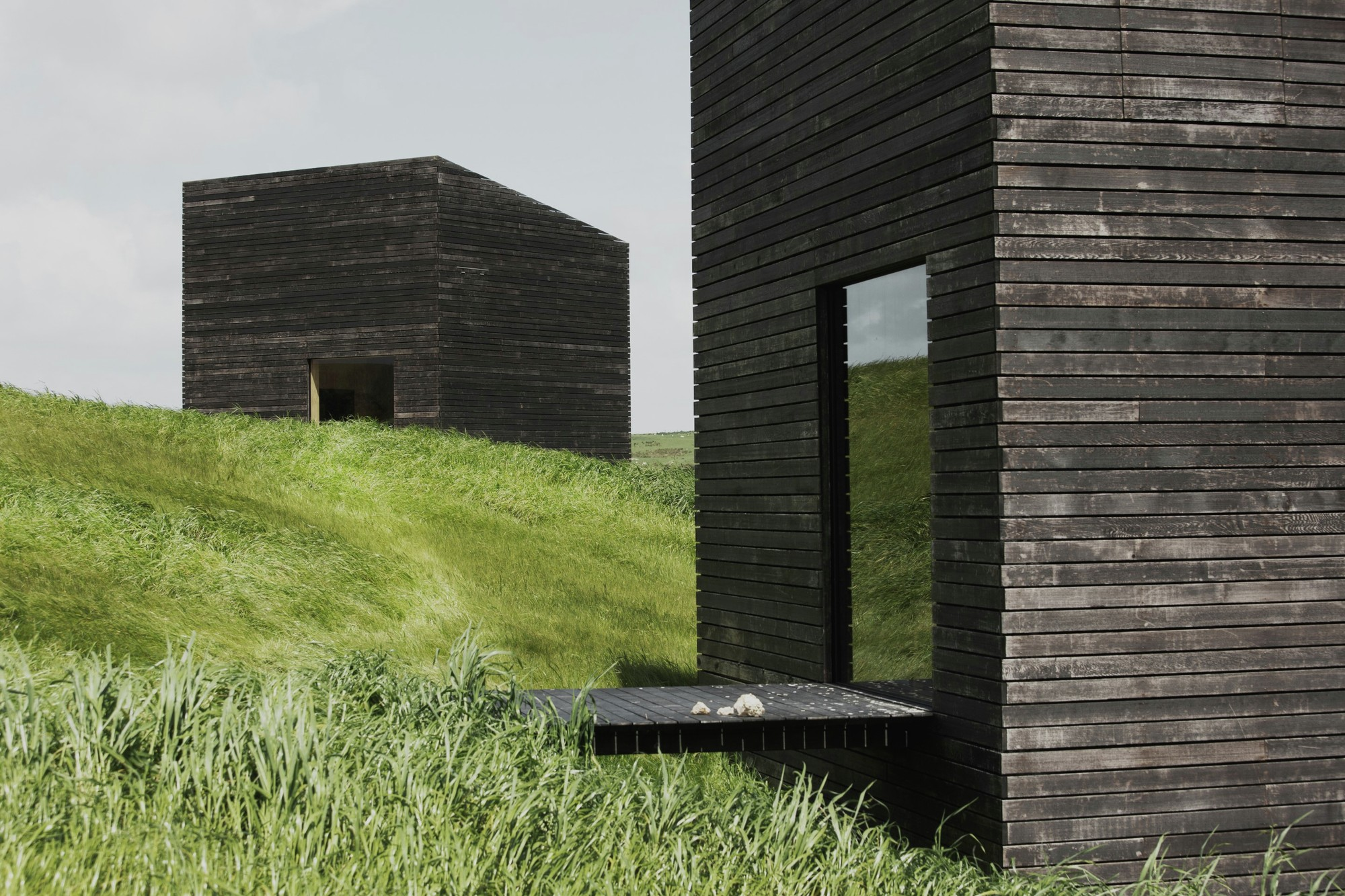 Eyrie Houses Cheshire Architects Archdaily