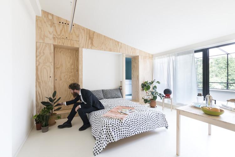 Departamento de 28 m2 / studio wok, © Federico Villa