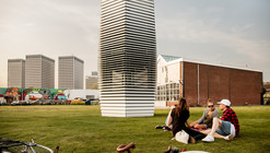 Smog Vacuum in The Netherlands Turns Carbon Waste into Jewelry