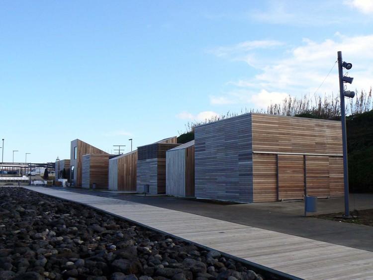 Arquipélago dos Açores recebe Roteiro de Arquitetura Contemporânea, Requalificação Urbanística do Areal de Santa Barbara, por Fernando Monteiro. Ilha de São Miguel. Via Roteiro de Arquitectura