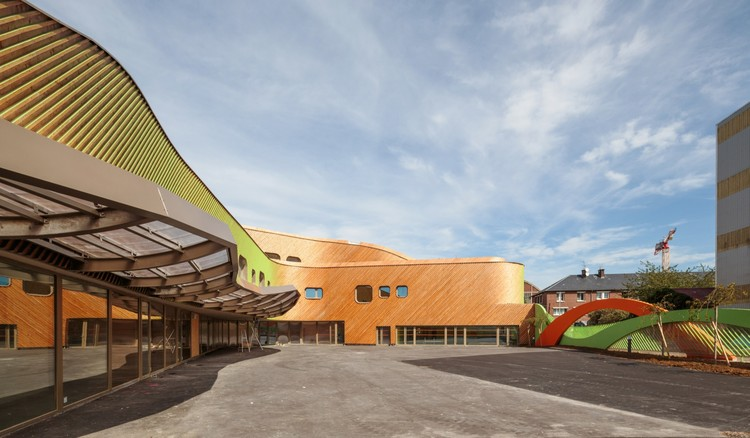 Nursery and Primary School in Saint-Denis / Paul Le Quernec, Courtesy of Paul Le Quernec
